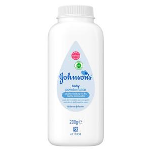 JOHNSON'S Baby Βρεφική Πούδρα, υποαλλεργική, 200gr 3574660026788