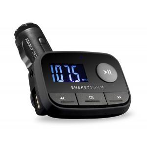 ENERGY SISTEM Car Trasmitter F2 Black knight, SD/USB/Line in, μαύρo 384600