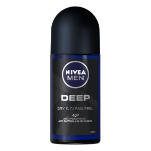 NIVEA MEN αποσμητικό Roll-on Deep, 50ml 4005900513069