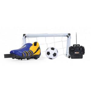 JAMARA Τηλεκατευθυνομενο ποδοσφαιρικο σετ Kick it Radio control, μπλε 402641