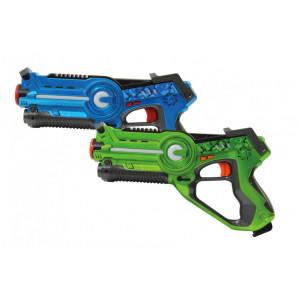 JAMARA Impulse laser set μαχης με ηχο, LED, δονηση, 4 ρυθμισεις οπλου 410036