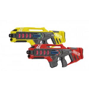 JAMARA Impulse Laser Gun Rifle set μάχης με ήχο, LED, δόνηση 410083
