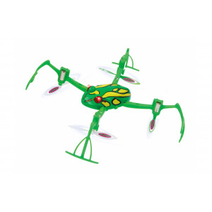 JAMARA Drone Loony Frog 3D, Flyback, 6 Axis, 360 flips, turbo, LED 422005