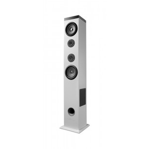 ENERGY SISTEM ηχείο Tower 5, Bluetooth, 2.1ch, USB/SD/FM, 60W, λευκό 422821