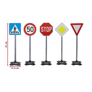 JAMARA Σετ σήμανσης οδικής κυκλοφορίας 460257, 5 τμχ 460257