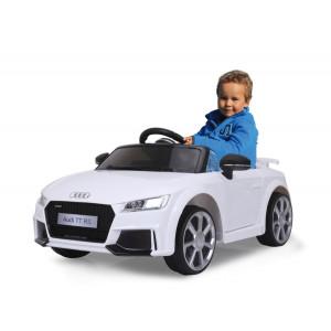 JAMARA Ride on Αυτοκινητο Audi TT RS, 1:4, 2 ταχυτητες, AUX/USB, λευκο 460278