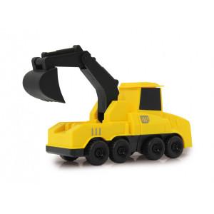 RASTAR Building Blocks με μαγνήτη, εκσκαφέας 460286