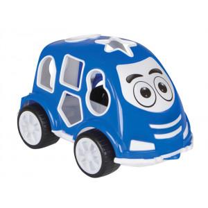 JAMARA Εκπαιδευτικο αυτοκινητο εκμαθησης σχηματων 460291, μπλε 460291