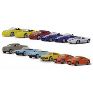JAMARA Σετ Αυτοκινητάκια Die-cast Street Kings 460352, 1:64 12τμχ 460352