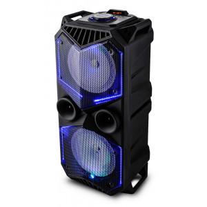 VOICEKRAFT Φορητό ηχείο 5100-ZG, 2x 30W RMS, LED, FM/USB/SD/Bluetooth 5100-ZG