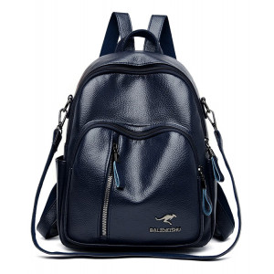 BALIDAISHU γυναικεία τσάντα πλάτης 1319-BLUE, μπλε 5538-DBLUE