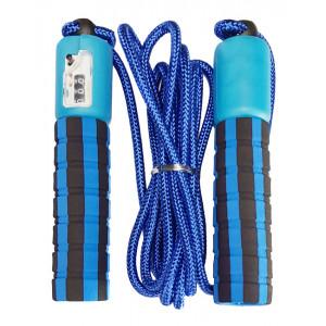 Σχοινάκι γυμναστικής με μετρητή 60294, μπλε 60294