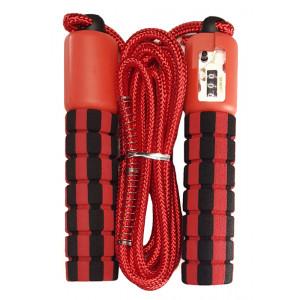 Σχοινάκι γυμναστικής με μετρητή 60296, κόκκινο 60296