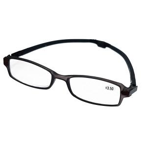 WELLYS μεγεθυντικά γυαλιά 6074256, +3.50, με μαγνήτη, γκρι 6074256