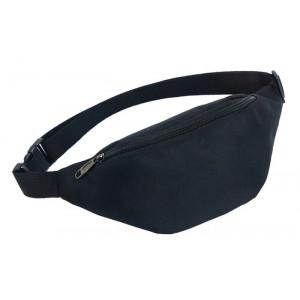 Τσάντα μέσης 62819, δυο θέσεων, 38x8x15cm, μαύρο 62819