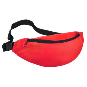 Τσάντα μέσης 62824, δυο θέσεων, 38x8x15cm, κόκκινη 62824
