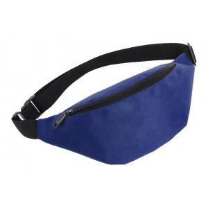 Τσάντα μέσης 62825, δυο θέσεων, 38x8x15cm, μπλε 62825