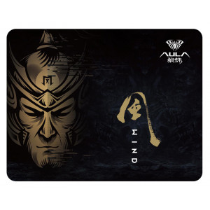 AULA gaming mousepad MP-W, 30x25x0.2cm, μαύρο 6948391215105