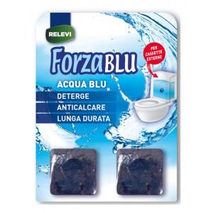 REZEVI κύβοι καθαρισμού για καζανάκι Forza Blu, 2τμχ 8002100247417