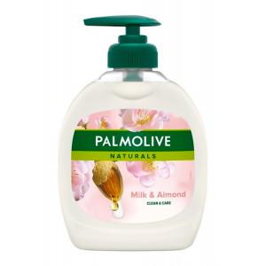 PALMOLIVE κρεμοσάπουνο Clean & care, με γάλα & αμύγδαλο, 300ml 8003520012906