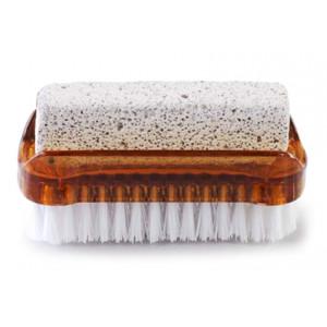 AQUA MASSAGE Βουρτσάκι καθαρισμού & απολέπισης ποδιών, καφέ 8008990009760