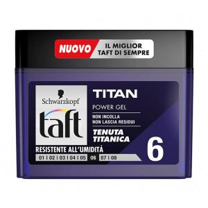 SCHWARZKOPF TAFT power gel μαλλιών Titan, No6, 250ml 8015700130157