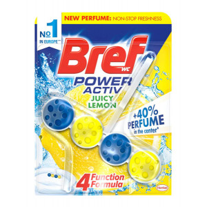 BREF αρωματικό τουαλέτας Power Activ, Juicy Lemon, 50gr 8410436151061