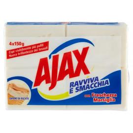 AJAX σαπούνι ρούχων Freshness of Marseille, 4x 150g 8693495044080