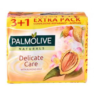 PALMOLIVE σαπούνι Delicate care, με γάλα αμυγδάλου, 4x 90g 8714789699110