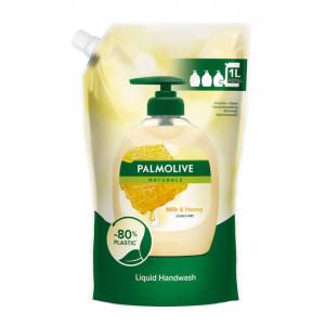 PALMOLIVE κρεμοσάπουνο με γάλα & μέλι, ανταλλακτικό, 1L 8714789992013