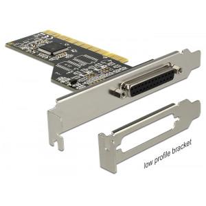 DELOCK Κάρτα Επέκτασης PCI σε Παράλληλη θύρα DB25 Female 89362