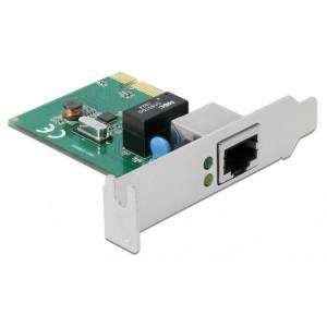 DELOCK κάρτα επέκτασης PCI σε 1x RJ45 Gigabit LAN 90381, 1000Mbps 90381