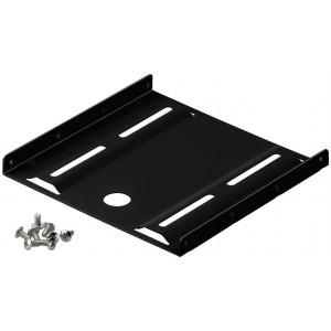 GOOBAY Tray Μετατροπής από 3.5 σε 2.5, μεταλλικό, μαύρο 93990