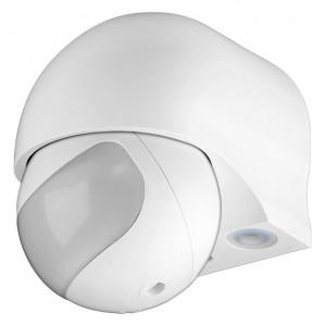 GOOBAY ανιχνευτής κίνησης 95174, εξωτερική χρήση, IP44, 180°, 12m, λευκό 95174