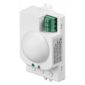 GOOBAY Microwave ανιχνευτής κίνησης 96011, εσωτ. χρήση, 360° 8m, λευκό 96011