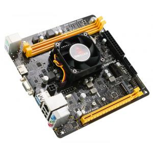BIOSTAR Μητρική A10N-9830E και CPU FX-9830P, 2x DDR4, USB 3.2, Ver. 6.0 A10N-9830E