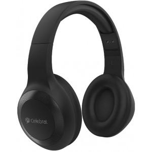 CELEBRAT headphones με μικρόφωνο A23-ΒΚ, bluetooth, 40mm, μαύρο A23-BK