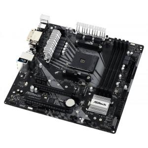 ASROCK μητρική A320M Pro4-F, 4x DDR4, AM4, USB 3.1, mATX A320M-PRO4-F