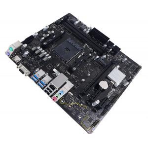 BIOSTAR Μητρική A32M2, 2x DDR4, AM4, USB 3.2, Micro ATX, Ver. 6.3 A32M2