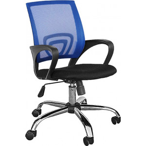 TNS Καρέκλα γραφείου AB-9050BLUE, εργονομική, ρυθμιζόμενη, μπλε AB-9050BLUE