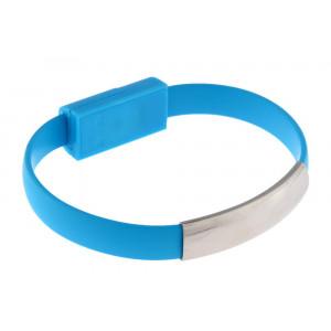 USB Καλώδιο φόρτισης wristband σε Micro USB, Blue