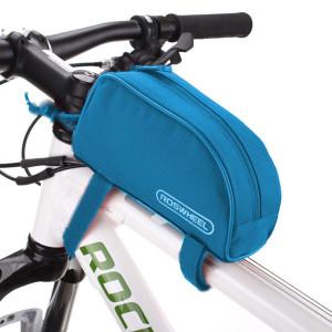 ROSWHEEL Τσάντα ποδηλάτου με ιμάντες πρόσδεσης, Blue