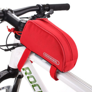 ROSWHEEL Τσάντα ποδηλάτου με ιμάντες πρόσδεσης, Red