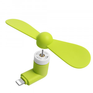 Mini Lightning electric cooling fan, Green ACC-030