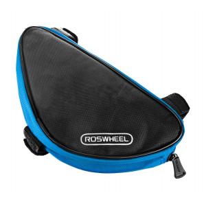 ROSWEEL Τσαντα για σκελετο ποδηλατου, Black/Blue ACC-033