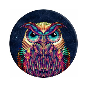 Sticky Pad για smartphone, πολλαπλων χρησεων, Owl ACC-130