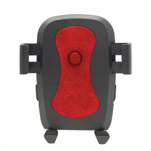 Universal Βαση αυτοκινητου C1 για Smartphone εως 6, μαυρη-κοκκινη ACC-161