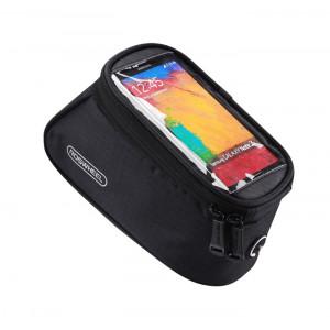 ROSWHEEL Τσάντα ποδηλάτου με θήκη τηλεφώνου, αδιάβροχη, μαύρη ACC-179