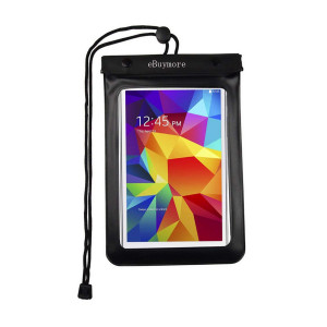 Αδιάβροχη θήκη κινητού & tablet έως 8, μαύρη ACC-184