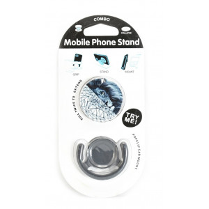 Pop mobile stand & holder με βάση αυτοκινήτου, lion ACC-195